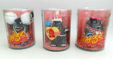 Godzilla: Set De 3 Mini Godzilla humourus Figuras Hechas Por Takara (mlfp)