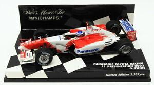 Minichamps 1/43 Scale 400 030070 - F1 Panasonic Toyota 2003 - O.Panis