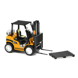 1:24 Forklift Truck Construction Vehicle Metal Diecast Model Toy Gift Yellow
