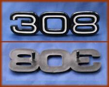 FERRARI 308 GTB GTS - Logo badge emblem script 308