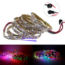 1M 3535 S2812B 60LED S type bendable RGB Full Color led pixel strip Addressable