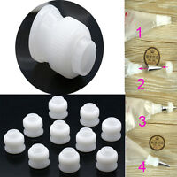 10pcs Coupler Adaptor Icing Piping Nozzle Bag Cake Flower Pastry Tool
