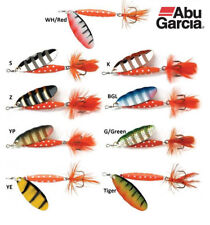 Abu Garcia Classic Reflex Red Spinner Lures - All Colours & Sizes