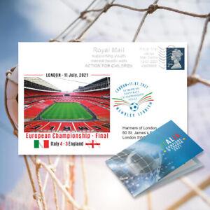 Italia Campione d'Europa 2020, la busta commemorativa   UEFA Euro2020