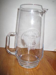 "RARE 2003 GREATER HARTFORD OPEN (GHO) 9.5"" Glass Pitcher PETER JACOBSEN Winner"