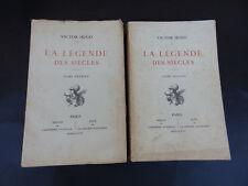 LA LEGENDE DES SIECLES VICTOR HUGO IMPRIMERIE NATIONALE EDT 1906