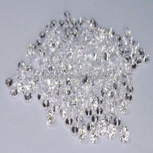 EF Color Lab Grown Loose CVD Diamonds Lot 2.70-2.80 mm VVS-VS Lot 6-12 Pieces