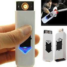USB Electric Battery Rechargeable Flameless Collectible Lighter Cigarettes Newly