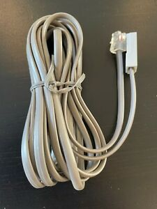 Avaya RJ11 to BT Cable, 3m, Silver
