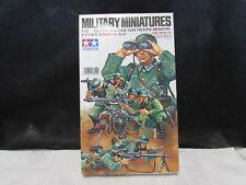 MILITARY MINIATURES German Machine Gun Troops Infantry Tamiya model kit 1/35