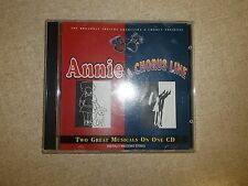 Annie & A Chorus LIne Musical On CD *FREE SHIPPING*