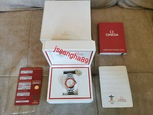 Omega Seamaster 2010 Olympics Vancouver 212.30.36.20.04.001 New Stickered 36.25m