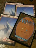Snow covered mountain 4x Modern horizons Mtg Card Mint Condition