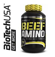BIOTECH USA BEEF AMINO 120 TABS.  -  BEEF PROTEIN ISOLATE HIGH QUALITY !!!