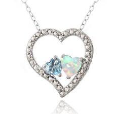 Diamond Blue Sterling Silver Fine Jewellery