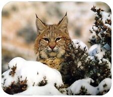 BOBCAT BOBBIE MOUSE PAD - 1/4 IN. WILD ANIMAL BOB CAT MOUSEPAD