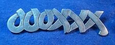 Mexican Jewelry Hugs & Kisses Brooch Sterling Silver Signed Mexico TS-22 01258