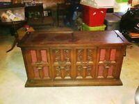 Vintage Sylvania Phonograph Stereo Console