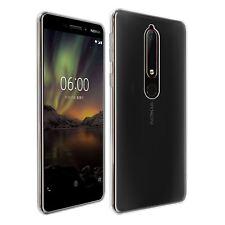 32nd GEL TRANSPARENTE Series - TPU Funda de silicona para Nokia 6 (2018)