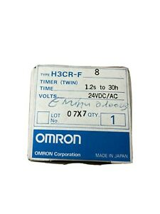 Omron H3CR-F8 Solid-state Multifunction Twin Timer 100-240VAC - 2020 stock - New