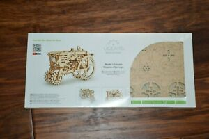 Ugears TRACTOR 3D puzzle Mechanical Wooden Model KIT Set Assembling Construction