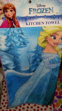 NEW Disney FROZEN Elsa + Anna Kitchen Towel!
