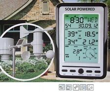 Professional Weather Station with Solar Outdoor Sensor