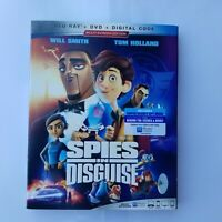 SPIES IN DISGUISE(BLU-RAY+DVD+DIGITAL CODE)W/SLIPCOVER NEW
