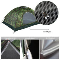 Tente Imperméable Protection UV Camouflage 2 personnes Randonnée Camping