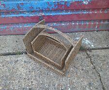 vintage wood baskets