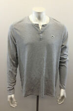 Le Shark Chasing The Dream Extra Large Mens Gray Pullover 1/4 Button Up Shirt