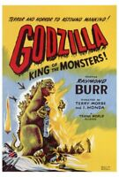 Godzilla King Of The Monsters (1956) (A) Vintage 50s Kaiju Movie Poster 27x40