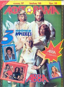 ABBA CHARLIES ANGELS GREEK POSTER MAGAZINE AFISORAMA