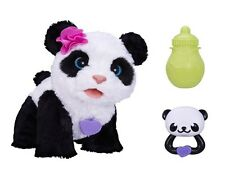 NEW FUR REAL PANDA INTERACTIVE ELECTRONIC PLUSH SOFT TOY PET FURREAL TALKING PET