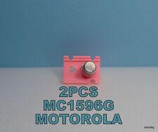 2 PCS MC1596G MOTOROLA BALANCED MODULATOR DEMODULATOR ORIGINAL NOS  METAL RARE