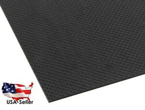 200X300X1.5MM 100% 3K Carbon Fiber Plate Panel Sheet 1.5mm by ACER Racing USA