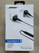Bose SoundSport In-ear Charcoal Black Wired Headphones (7417760010)