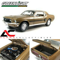 GREENLIGHT 50829 1:18 1968 FORD MUSTANG HIGH COUNTRY SPECIAL GOLD HCS L.E 240