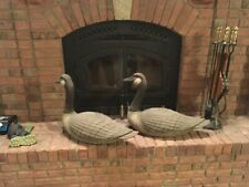 Antique General Fibre Canadian Goose Decoys