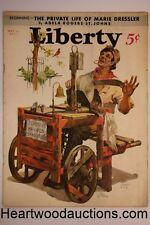 Liberty May 13, 1933 Hitler; F.H. La Guardia; Octavus Roy Cohen