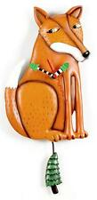 Allen Designs Mr. Foxy Wall Clock P1272 New Boxed