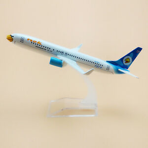 1:400 White Alloy Airplane Thai NOK Air Boeing 737  Aircraft Model F Collection