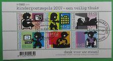 Nederland NVPH 2527 Blok Kinderzegels 2007 veiling thuis mooi gestempeld
