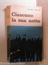 CIASCUNO LA SUA NOTTE Julien Green Gastone Toschi e Giuseppe Valentini Bompiani