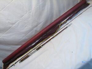 Vintage Heddon Pal 7' 2-pc Fiberglass Fishing Rod #7554 Mark IV w/Bag/Tube