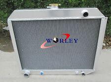 3 ROW Aluminum Radiator for 1966-1970 Chrysler/Dodge Polara/Plymouth Fury 7.2L
