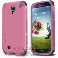 Samsung Galaxy S4 PureGear DualTek Extreme Impact - Simply Pink Protector Guard