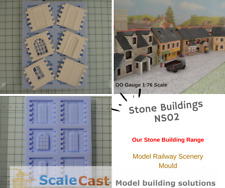 NEW Stone Building Mould NS02- Model Railway Scenery - ScaleCast