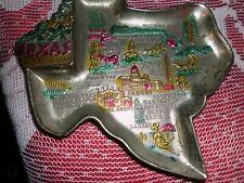 Vintage, Ashtray, Texas, Mid-Century State Souvenir