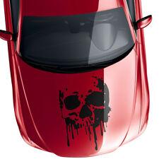 Aufkleber Grunge Totenkopf Spritzer Blut Skull Dekor Auto Sticker Decal #1330-85